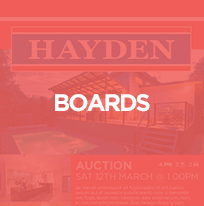Hayden Real Estate - Sign Boards